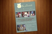 Kalliste Advert Design