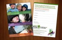 Cotswold RDA Postcard Design