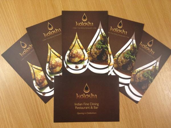 Koloshi A6 Promotional Cards & Invite Print