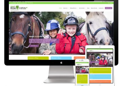 Cotswold RDA Website Design