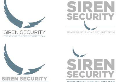 Siren Security Logo Design