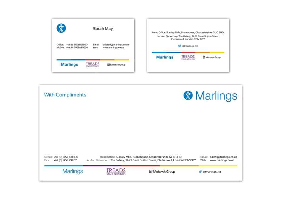 Business card dfcreative marlings stationary design reheart Images