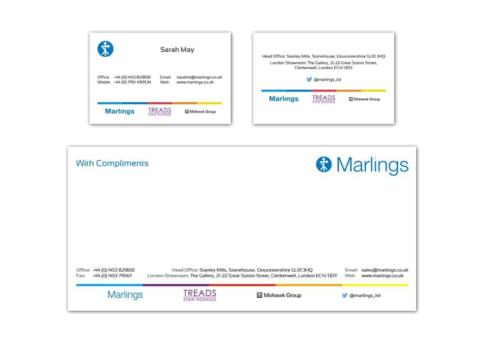 Marlings Stationary Design
