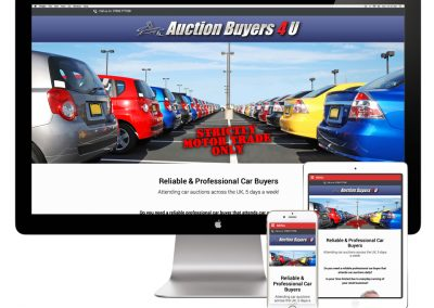 Auction Buyers 4U Website Design