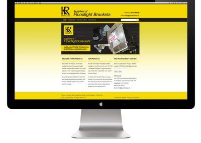 KR Products Website Design