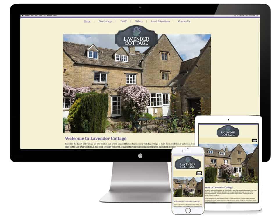 Lavender Cottage Website Design