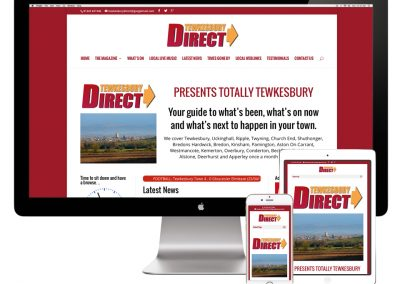 Tewkesbury Direct Website Design