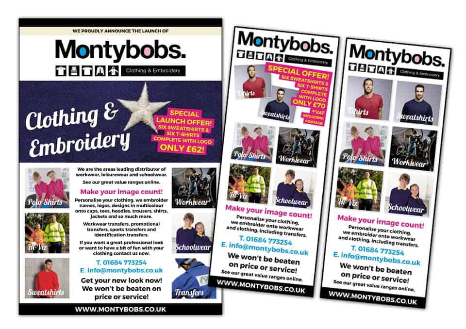 Montybobs Advert Designs