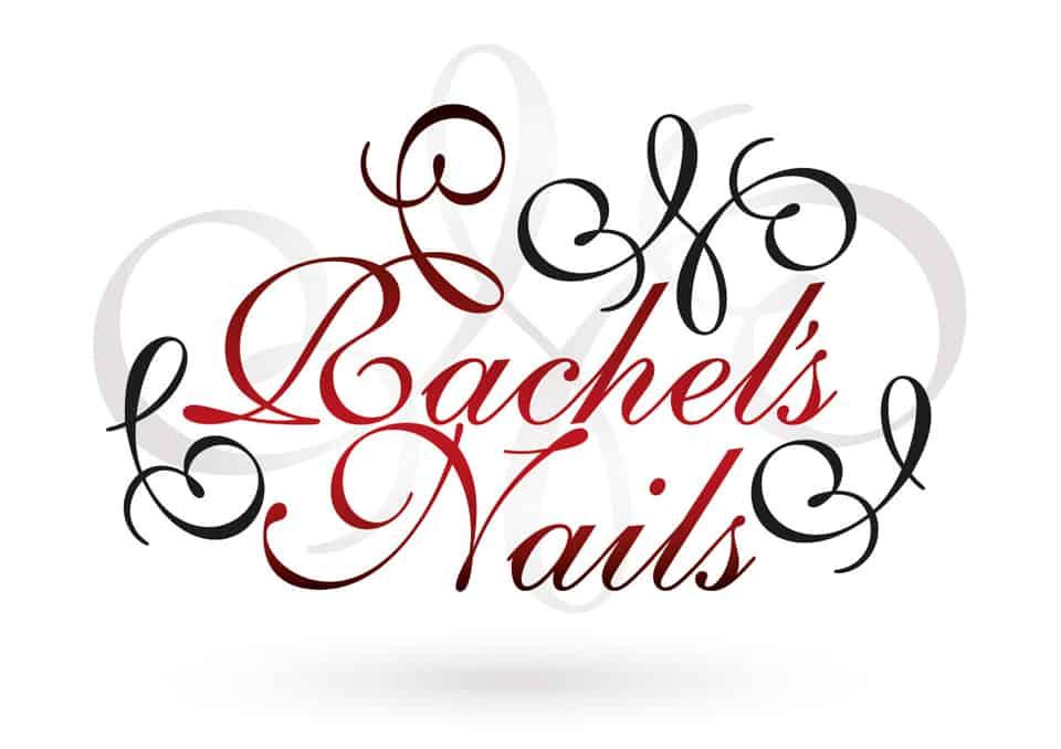 Rachel's Nails Logo Design
