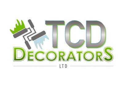TCD Decorators Logo Design